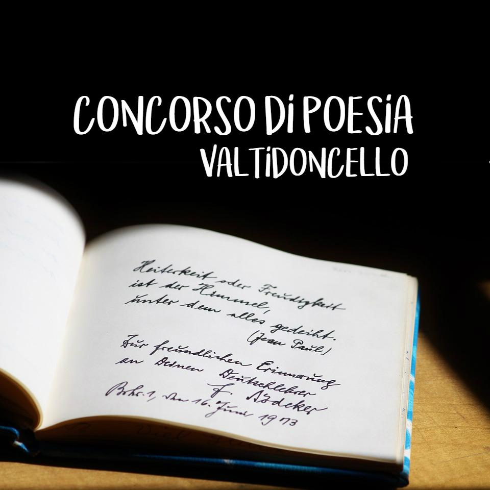 Arriva il Concorso letterario di Poesia Valtidoncello (gratuito)