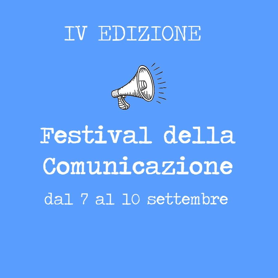 Festival della Comunicazione a settembre: tanti ospiti d'eccezione (gratuito)