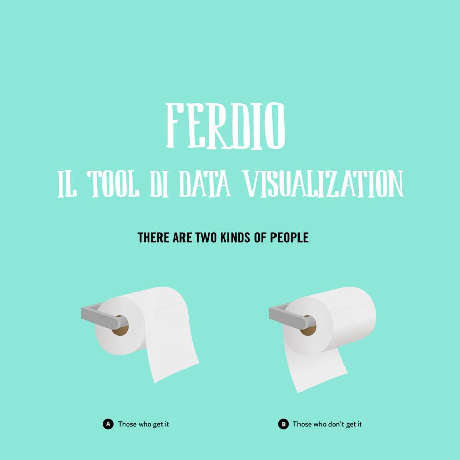 Ferdio, il tool più creativo per la data visualization