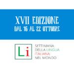 XVII edizione della settimana lingua italiana