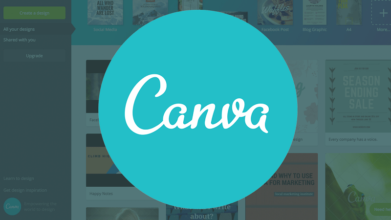 Canva, tool di graphic design per social post