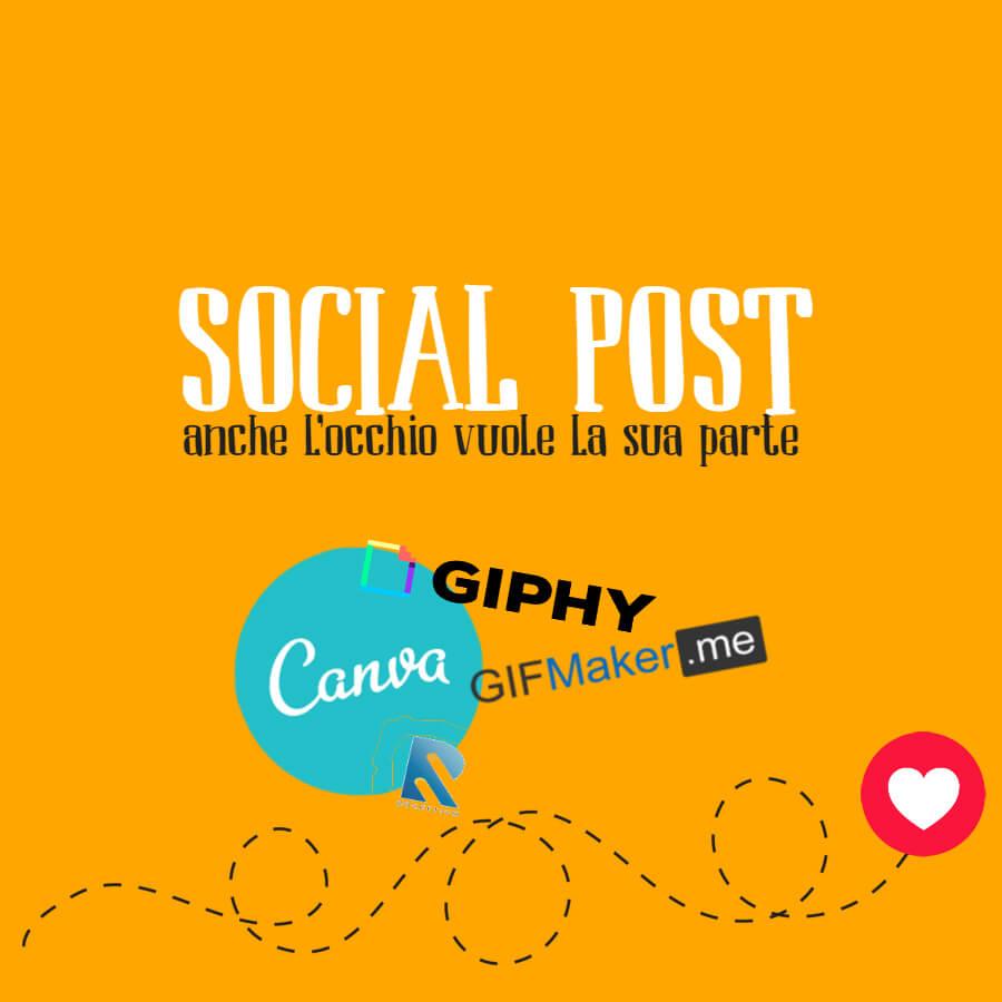 Social post, occhio al design
