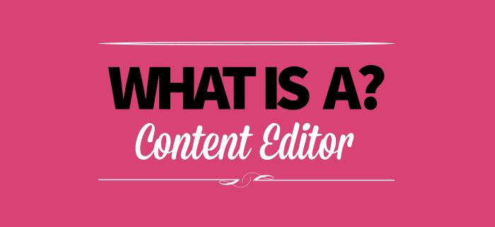 Web content editor: cos'è?