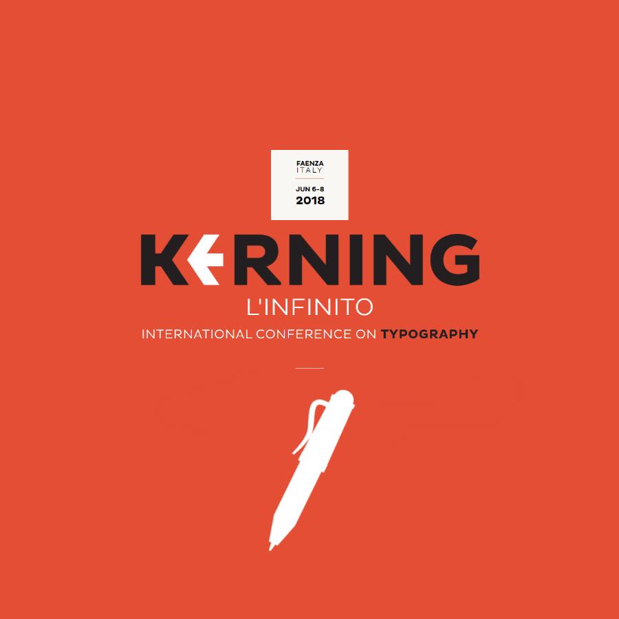 Kerning, verso l'infinito con la conferenza internazionale sulla tipografia