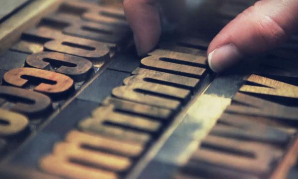 Tipografia al Kerning