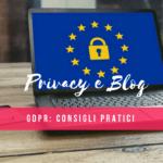 GDPR e privacy per i blog