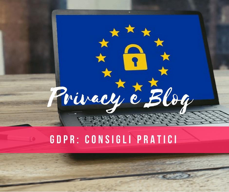 GDPR per i blog con WordPress: ecco qualche consiglio per adeguarsi alla normativa sulla privacy