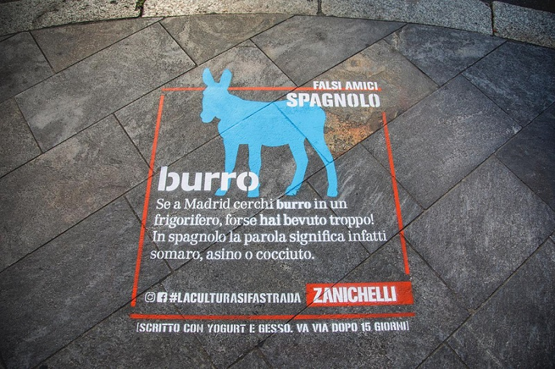 """""""La cultura si fa strada"""": la lingua italiana rivive attraverso la street art"""
