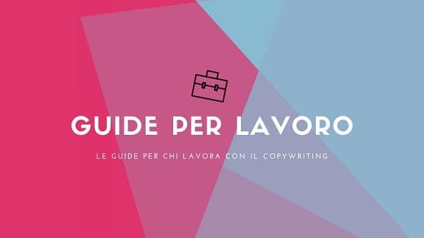 Lavoro copywriter
