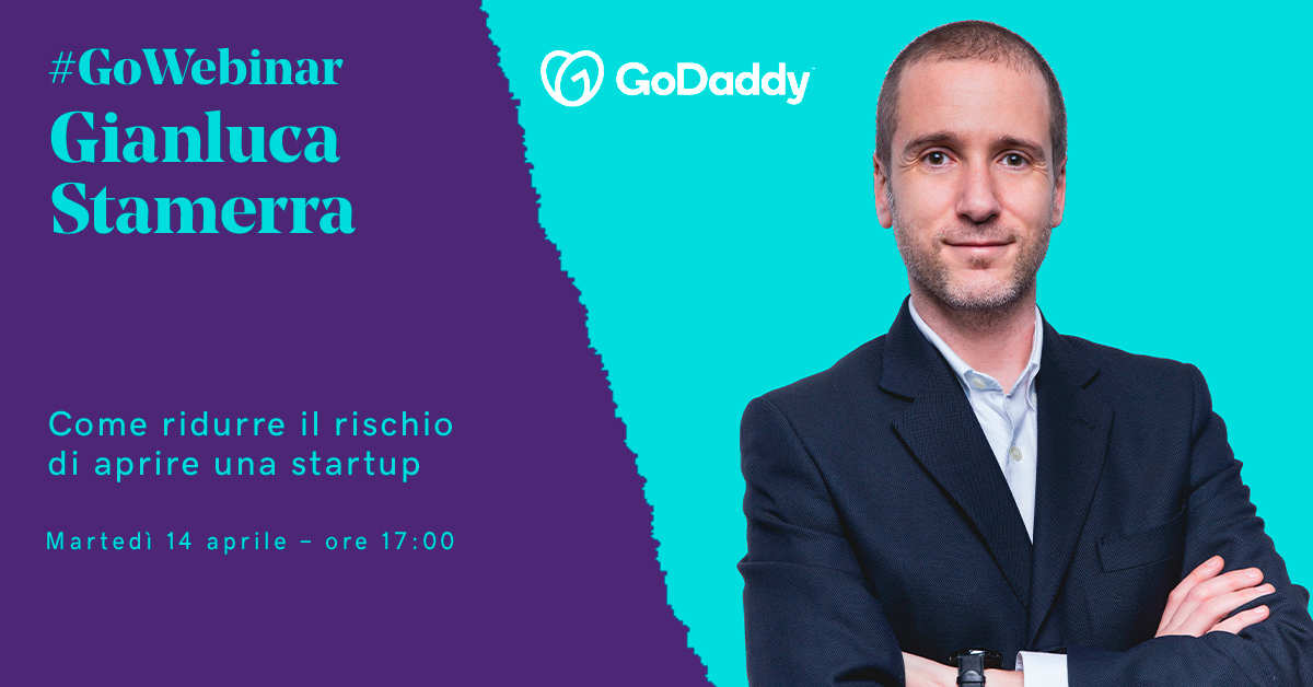 GoWebinar: il 14 aprile si parla di come ridurre il rischio di aprire una startup