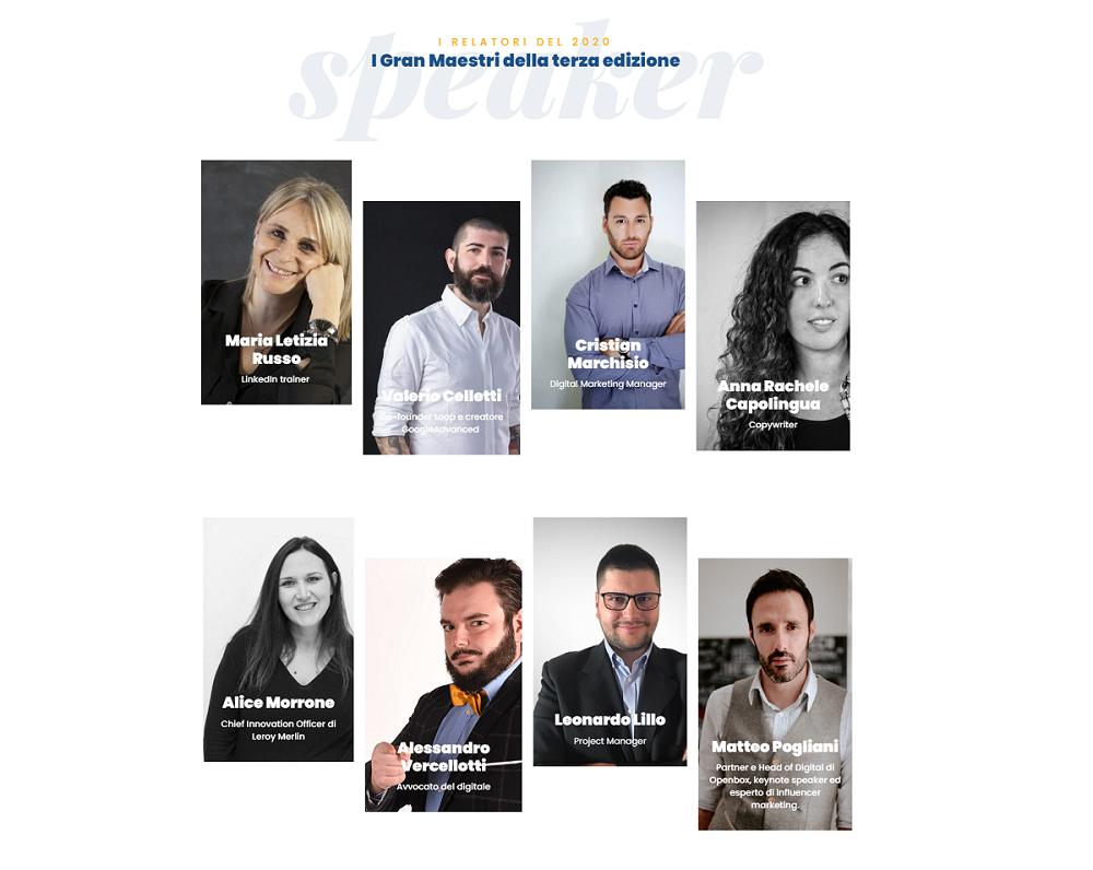 Cavalieri digitali, relatori e programma