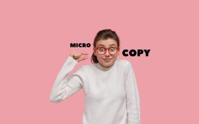 Micro-copywriting e UX: più micro è il copy, più grande è il risultato